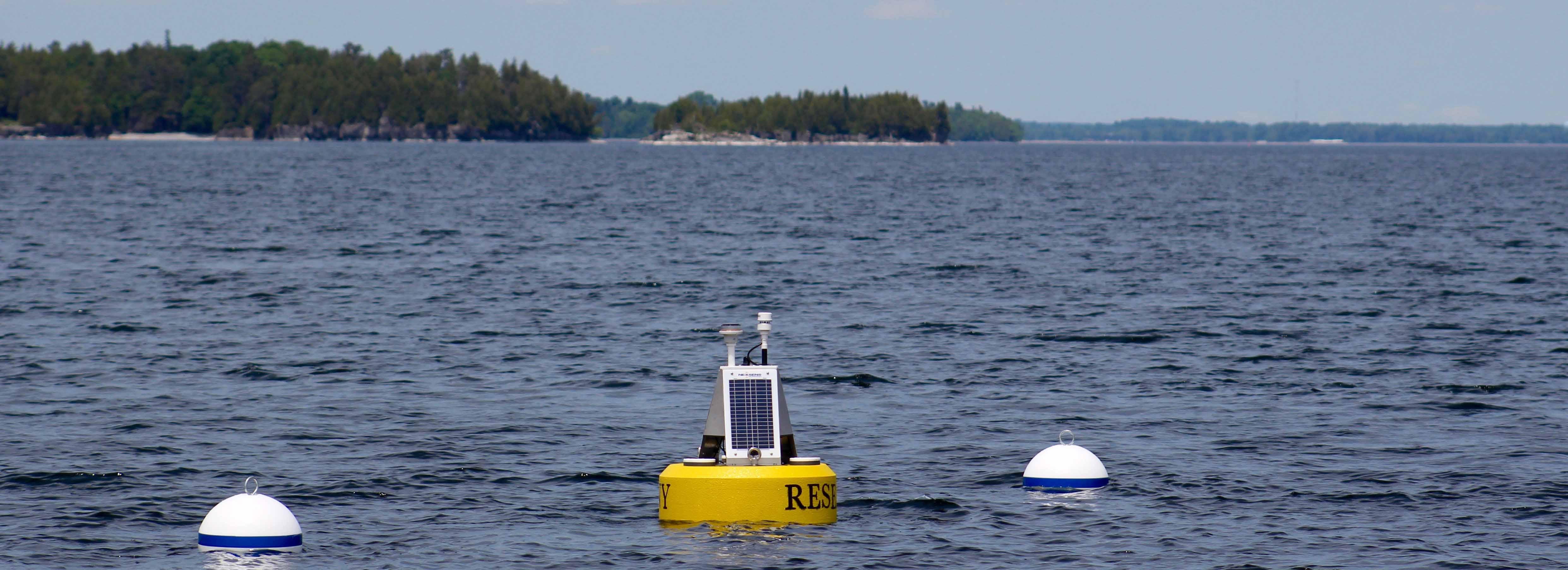 suny plattsburgh lake champlain data buoy